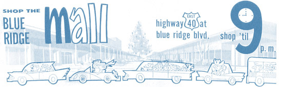 Blue Ridge Crossing 1950
